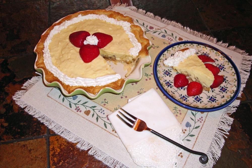 banana cream pie article